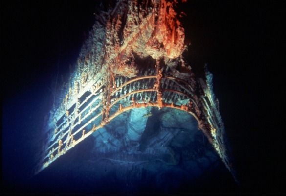 real titanic ship underwater   obsessed   Pinterest   Real ...