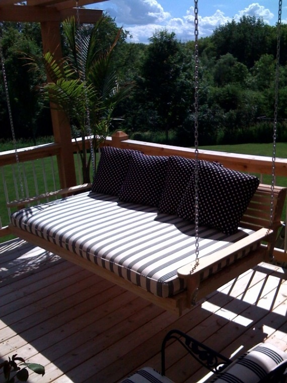 121 best benches porch swings rockers images on pinterest porch swing bed from cypress moon porch swings solutioingenieria Gallery