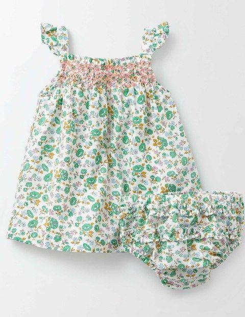 Summer Smocked Dress