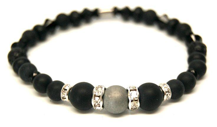 Bracelet élastique bracelet cristal bracelet pierre précieuse bijoux chic…