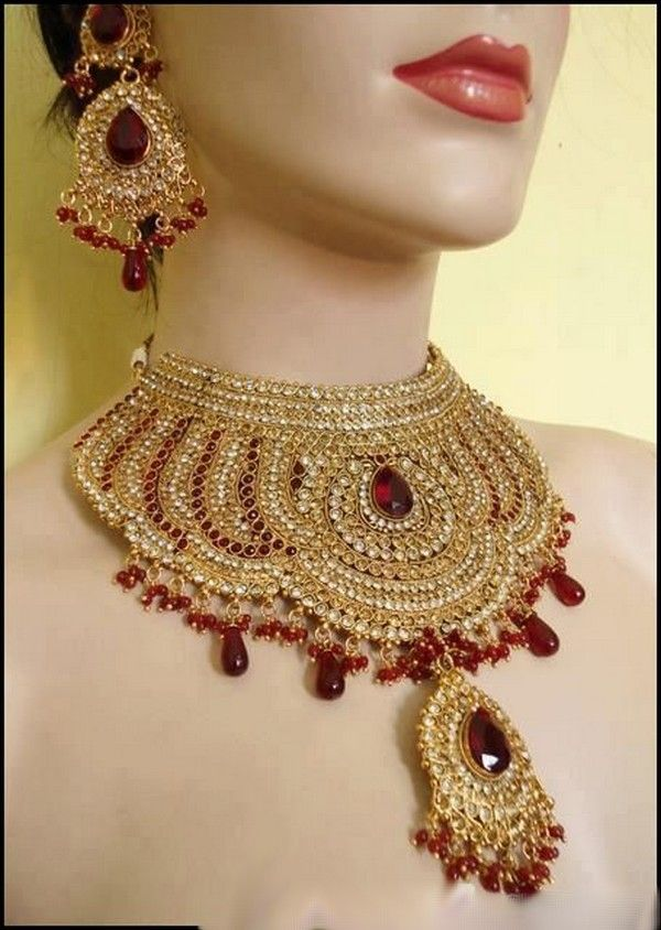 Indian Bridal Jewellery | Indian Bridal Jewelry Set-3