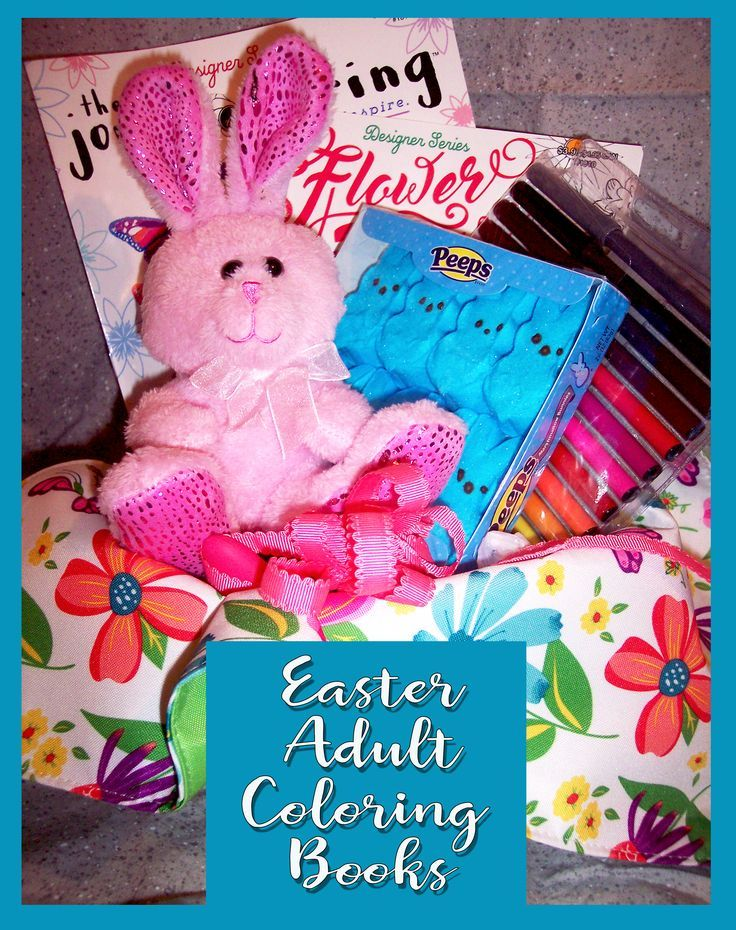 Easter Adult Coloring Books
