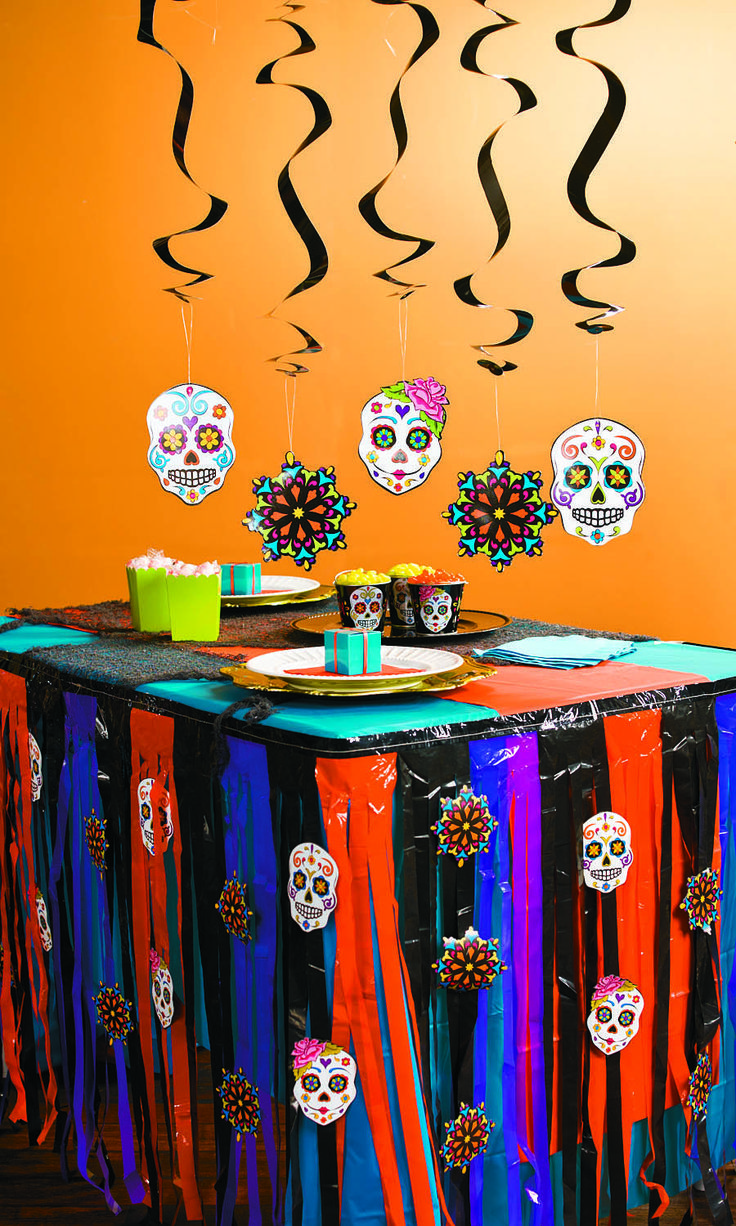 Halloween birthday party decorations - It May Be Called The Day Of The Dead But Our Indoor Party Decorations Will Halloween