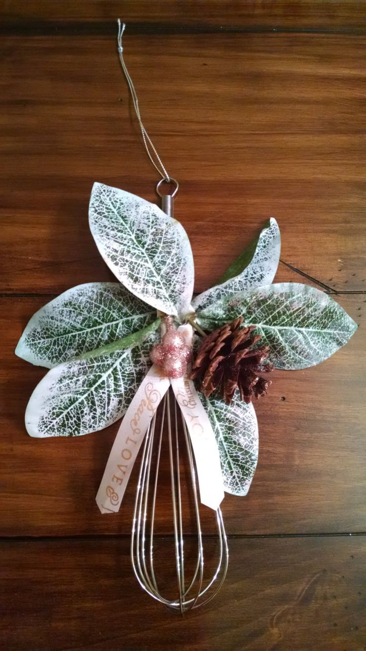 Whisk Christmas Ornaments Christmas Tree Christmas Decorations Unique Christmas Ornaments Christmas Wreaths Christmas Stockings Fall Decor by OccasionsStudios on Etsy