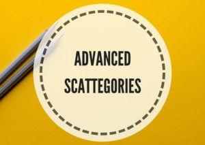 Advanced scattegories - Lesson Plans Digger