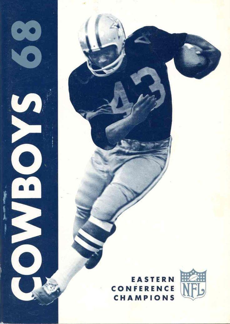 1968 Dallas Cowboys program #Dallas #Cowboys #DallasCowboys