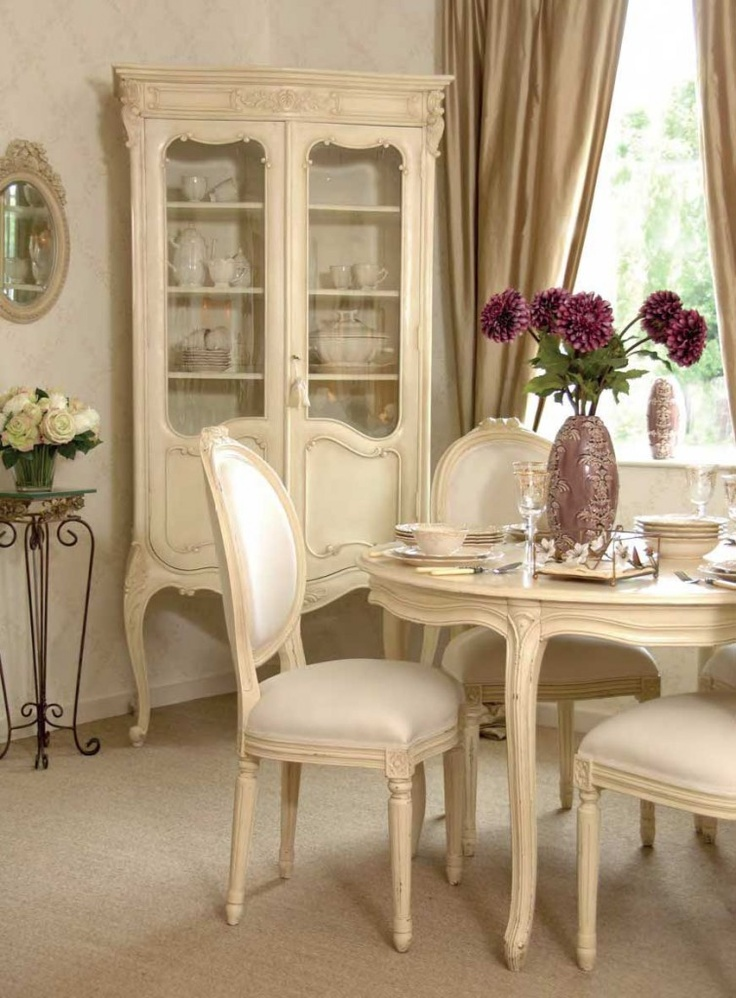 French country dining room dining room pinterest for Country style dining room