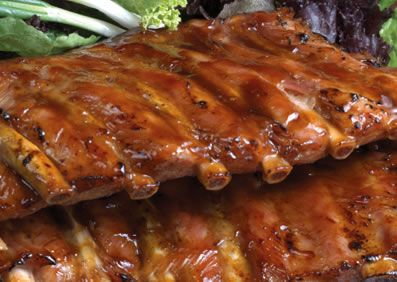 California-style Honey Ribs