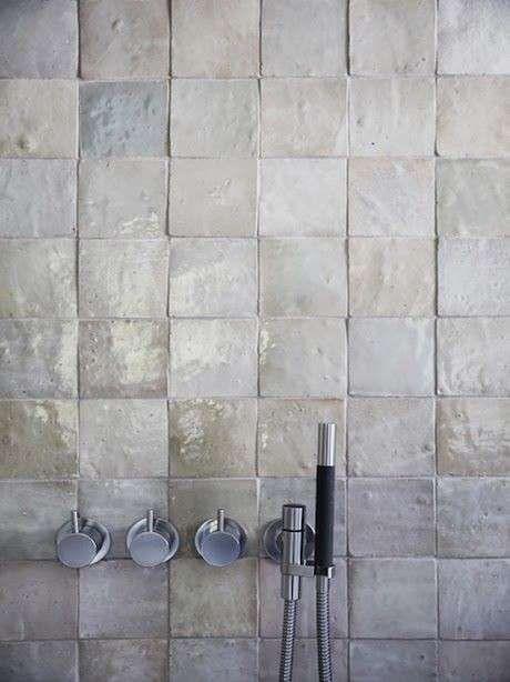Piastrelle per il bagno rustico - Rustico