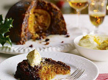 Heston's Cointreau butter perfect with his Hidden Orange Christmas Pudding
