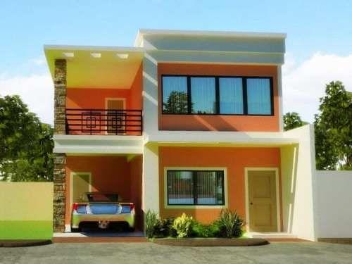 kombinasi warna cat rumah minimalis terbaru