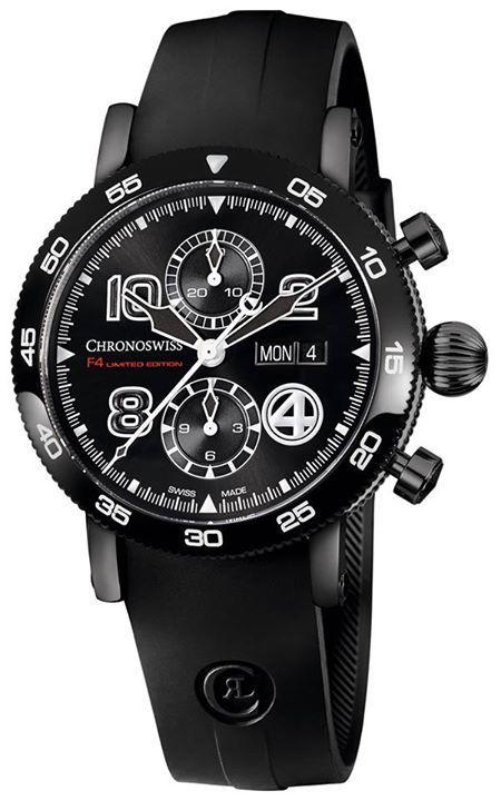 CHRONOSWISS Timemaster Fantastic 4 Un cronógrafo que se inspira en la música germana para entregar una pieza destacada, bella y con calibre mecánico automático con funciones de cronógrafo. #WatchesWorld, los relojes de tu vida.