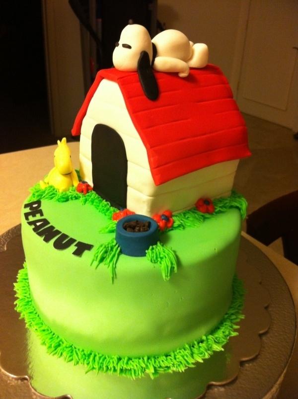 Snoopy Birthday Cake