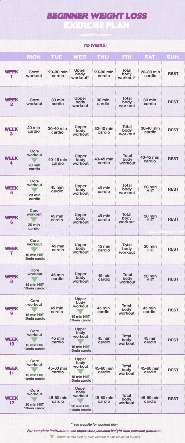 12 Week Weight Loss Program: beginner starting this today! work outs arent long but look like they are effective with a healthy diet