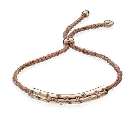 Esencia Scatter Friendship Bracelet | Monica Vinader
