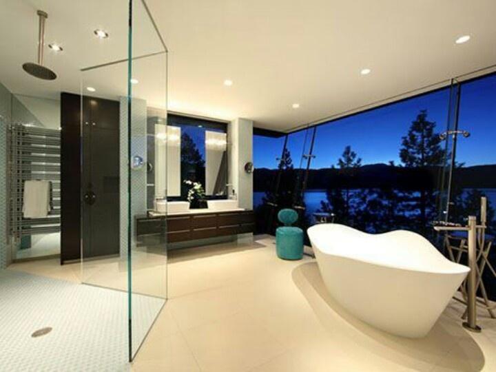 Bathroom heaven Lake house bathroom, Modern bathroom