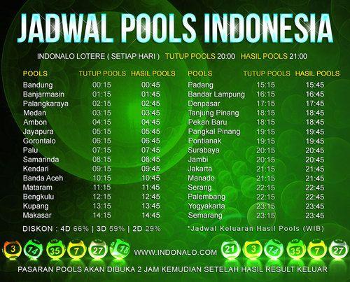 National Lottery Nalo : http://www.indonalo.net Agen Togel Online Indonesia Menghadirkan  Togel atau Pools 30 Kota Di Indonesia Pertama dan Satu-  Satunya di Indonesia DIUNDI SETIAP HARI http://goo.gl/qLSlS0  Main Live Streaming Setiap Hari Jumat,  Total Hadiah 3.5 Miliar Rupiah ( 1st @ Rp.1M , 2nd @  Rp.500Jt , 3rd @ Rp.250Jt ) http://goo.gl/qLSlS0  Semua Jadwal dan Hasil keluaran akan mengikuti Waktu  Indonesia Barat (WIB)  Diskon yang diberikan http://www.indonalo.net sangat berbeda…