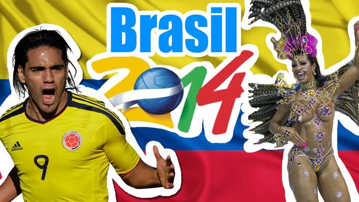 Colombia en el mundial Brasil 2014 !