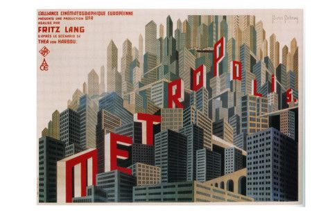 Metropolis, French Movie Poster, 1926 Posters at AllPosters.com