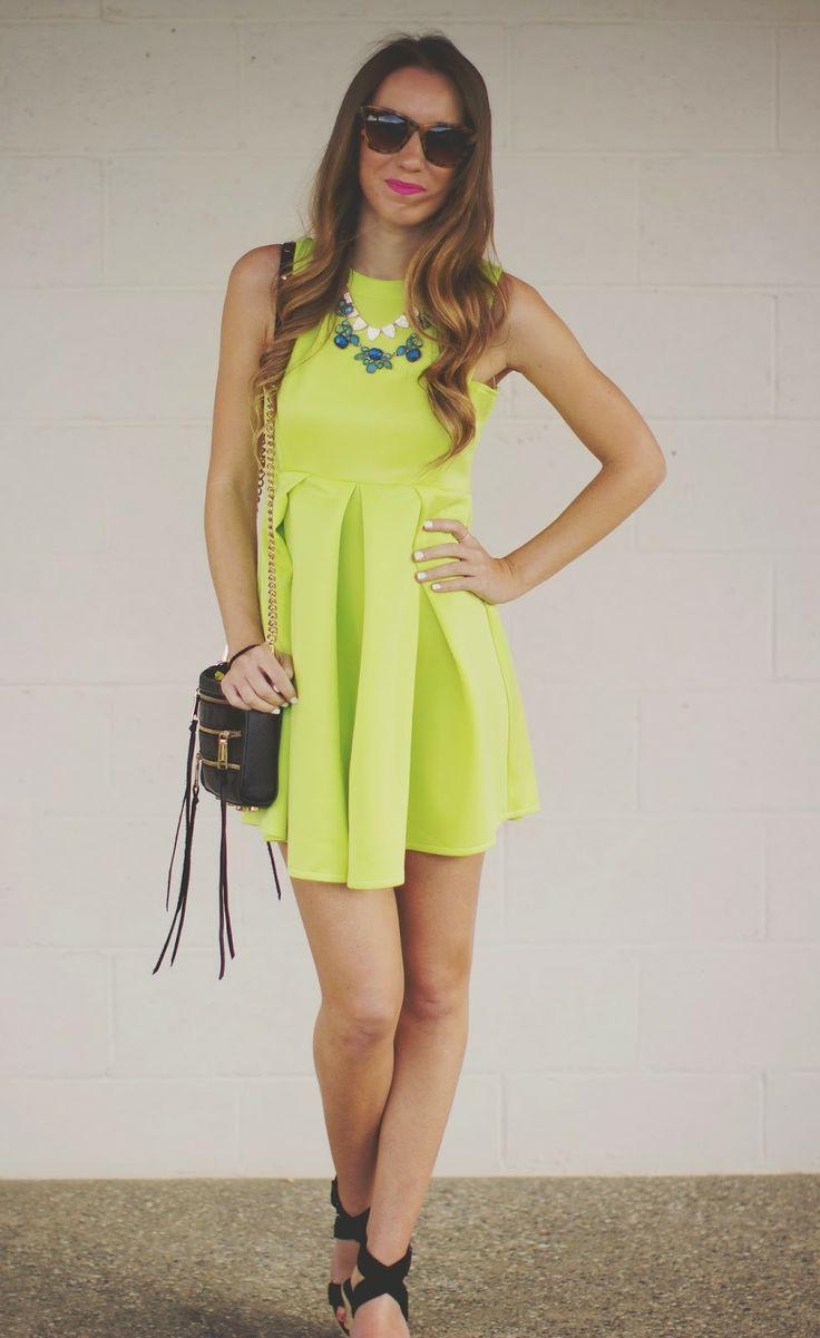 Best 25+ Neon green dresses ideas on Pinterest | Neon ...