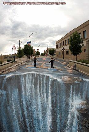 Trick Art / Edgar Mueller soo cool!!