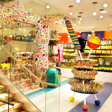 Look at some of the best candy shoppes in New York City, right in time for Halloween.