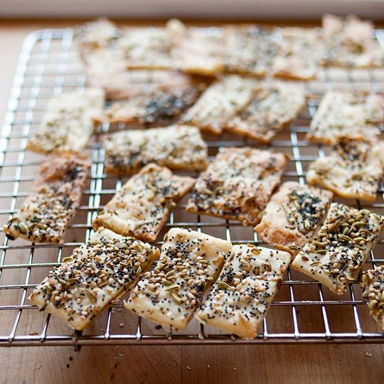 // How to Make Crackers at Home