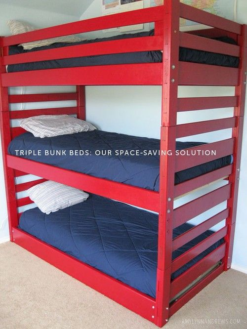 best 25+ triple bunk bed ikea ideas on pinterest | triple bunk
