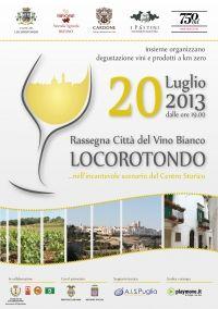 Locorotondo città del vino bianco
