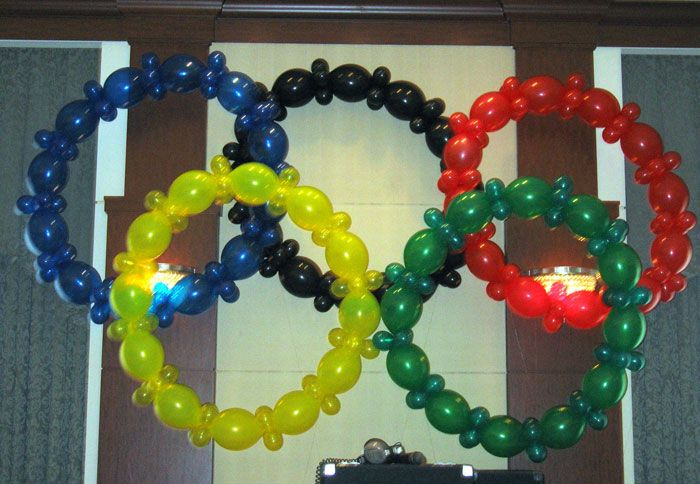 Olympic Party decos
