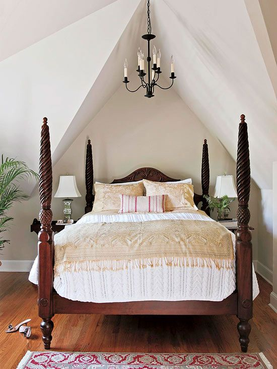 Small Attic Bedroom Ideas For Couples