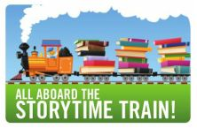 The Children's Room Story-time Train.