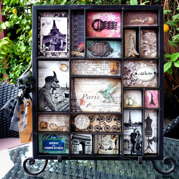 @Lindsey Carter   you need to make one of these with all your European stops from this year!!!! Travel picture shadowbox.