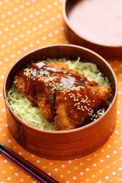 ソースあんかけカツ丼弁当と、トホホな話。 by りんりん丸さん ...