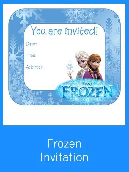 The 25+ best Free frozen invitations ideas on Pinterest Frozen - birthday invitations free download