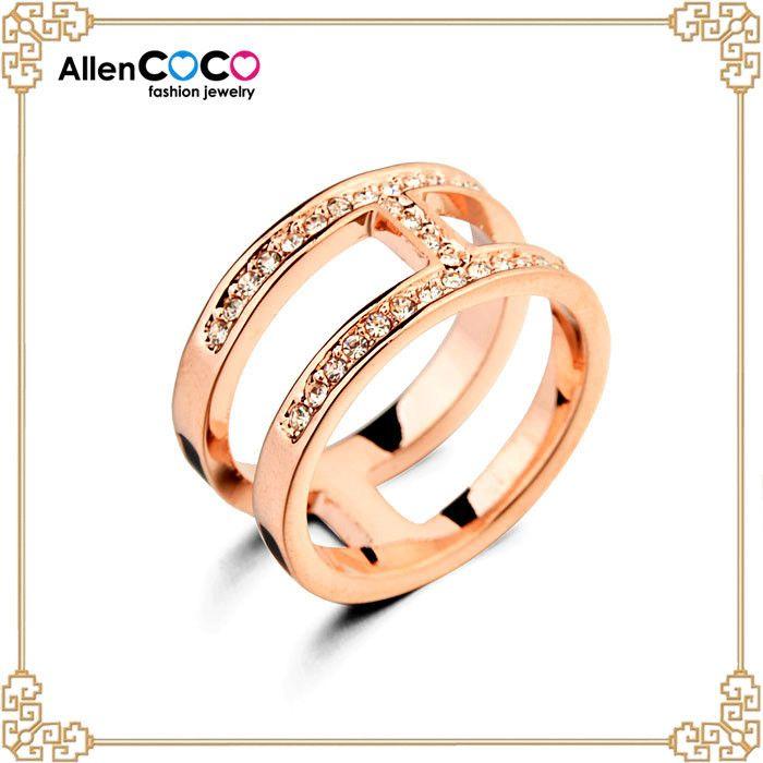 Ювелирные изделия позолоченные винтаж кольцо с обручальное кольцо оптовая продажа тела в чин