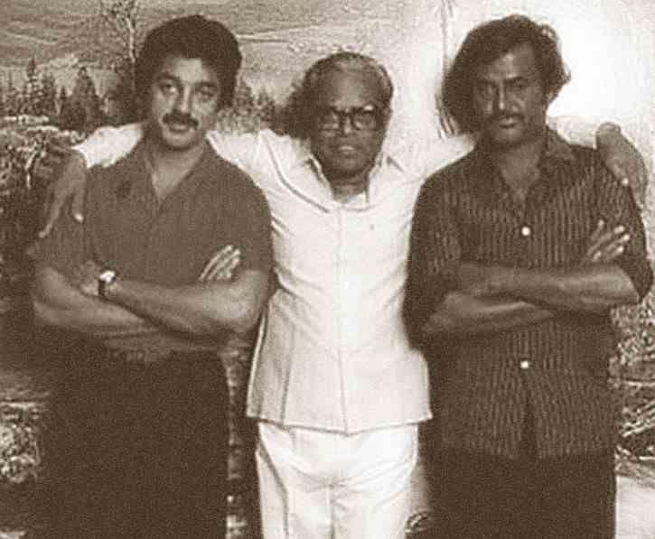 Kamal hassan, Rajani Kanth With Great Director Balachander
