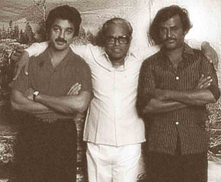 Kamal hassan, Rajani Kanth With Great Director Balachander