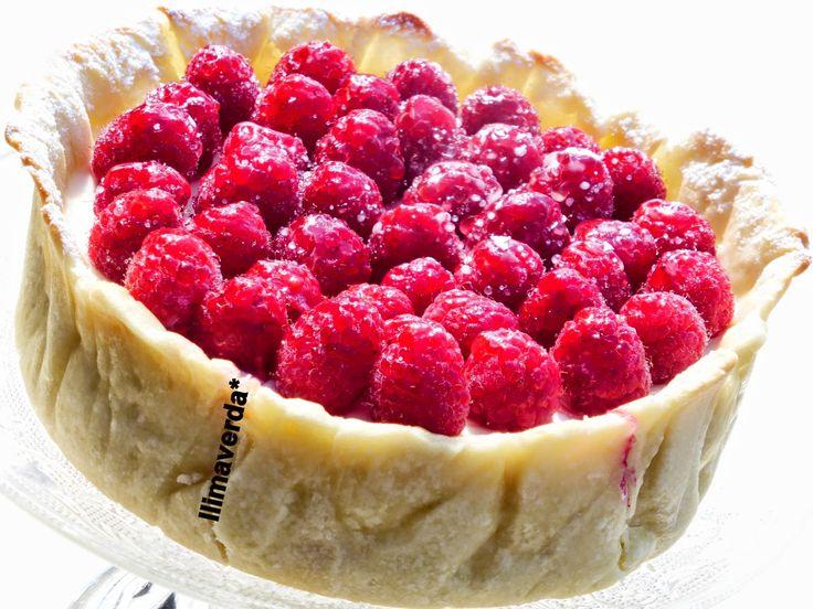 llimaverda: Cheesecake con frambuesas
