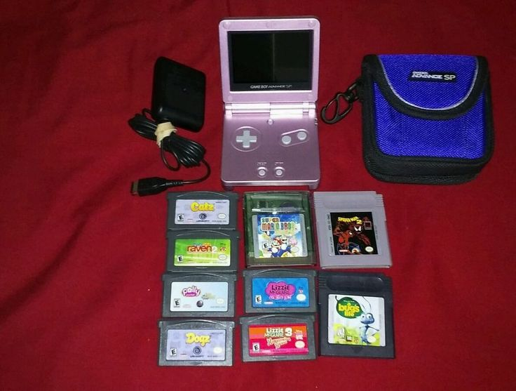 Gameboy Advance SP AGS-101 Bundle #Nintendo