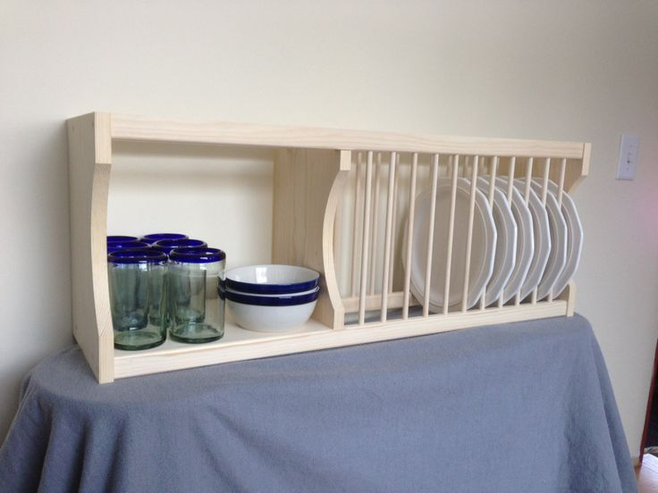 Best 25+ Cabinet plate rack ideas on Pinterest | Plate storage ...
