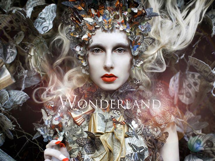 The highly anticipated photo book of the award-winning 'Wonderland' series, by British fine art photographer Kirsty Mitchell.