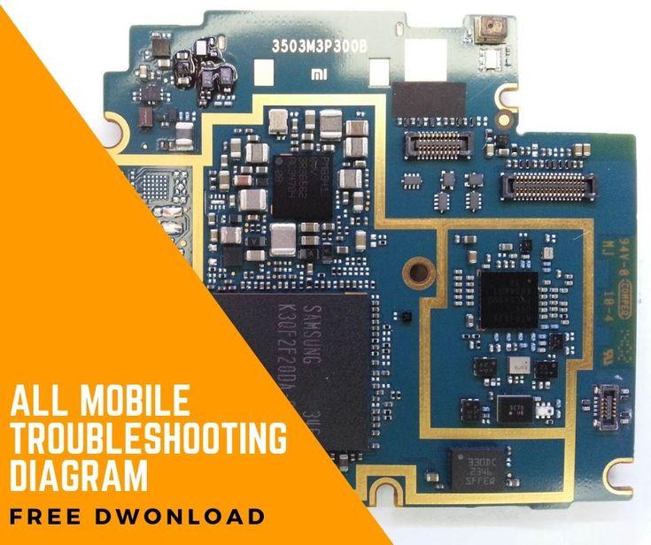 Mobile Pcb Diagram Free Download In 2020
