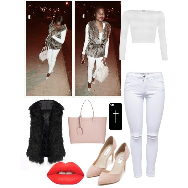 Untitled #5 by chrissiemabena on Polyvore featuring polyvore fashion style WearAll Lipsy Nly Shoes Gucci Casetify Lime Crime