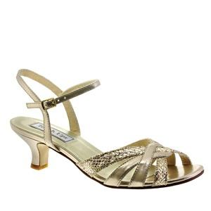 Jane 414, Benjamin Walk, Champagne, Mother of the Bride, Mother of the Groom, Kitten heel, sparkly shoe