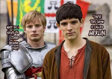 Yes it is. And Merlin is more awesome!!! (I like Arthur too...but Merlin is more awesome.....but now that Arthur's dead...I miss him!! I hate that ending...)