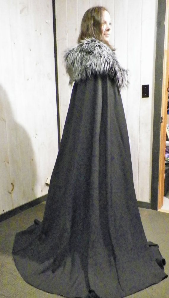 Lyana Stark Cape from the Game Of Thrones by DaysOfOurKnights, $130.00