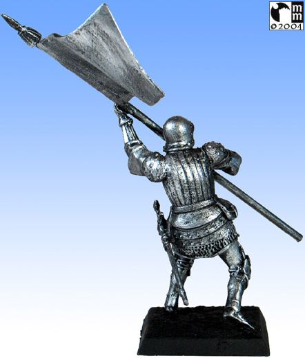 Mindstalkers: soldiers generic for factions of Milan and Venice. Standard Bearer without sword 03