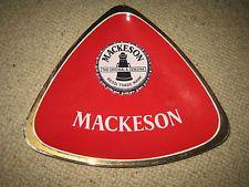 LARGE CARLTON WARE MACKESON ASHTRAY No 2706   MACKESON STOUT ASHTRAY