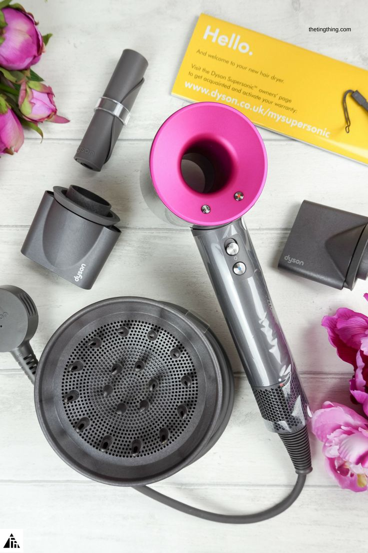 Dyson Supersonic Hairdryer with diffuser